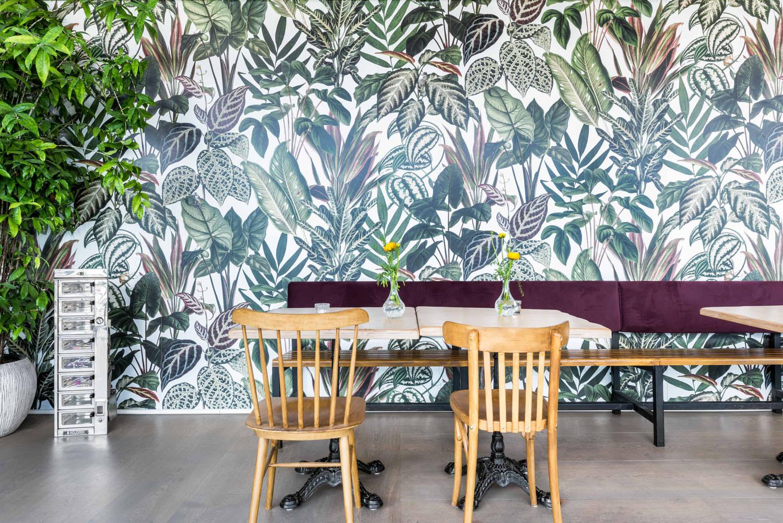 kleuradvies-restaurant-wilde-kroketten-amsterdam-rebel-walls-behang