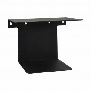 House-Doctor-Boekenplank-zwart-staal-32x25x23-cm